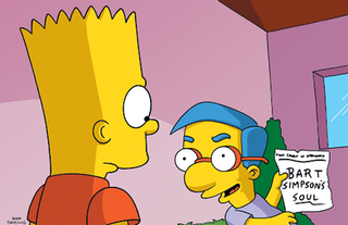 Bart Sells His Soul 4th episode of the seventh season of The Simpsons