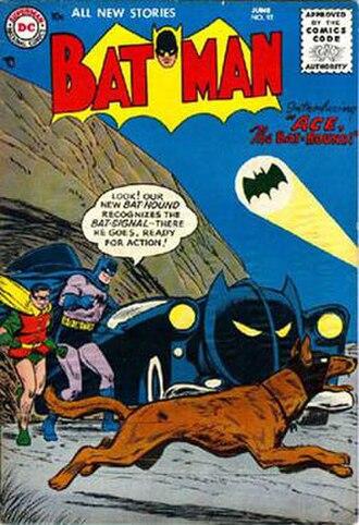 Ace the Bat-Hound - Image: Batman 092