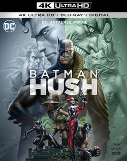 <i>Batman: Hush</i> (film) 2019 animated film directed by Justin Copeland