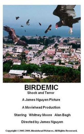Birdemic: Shock and Terror - First promotional poster