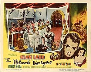 The Black Knight (film) - Theatrical release poster