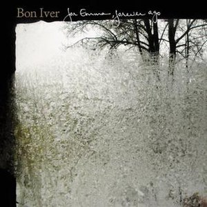 For Emma, Forever Ago - Image: Bon iver album cover