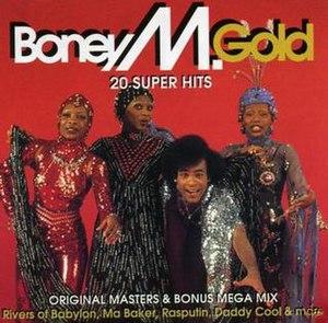 Gold – 20 Super Hits - Image: Boney M. Gold (Canada)