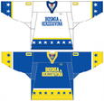 Bosnia and Herzegovina national ice hockey team Home & Away Jerseys.png