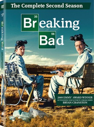 Breaking Bad (season 2) - Season 2 DVD cover