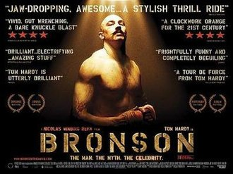 Bronson (film) - UK theatrical release poster