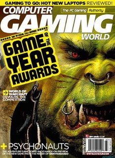 <i>Computer Gaming World</i> American video game magazine