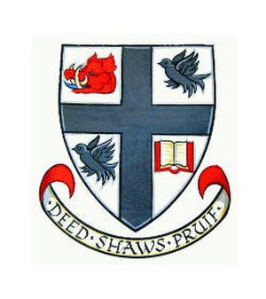 Carnoustie High School - Image: Carnoustie High School Badge