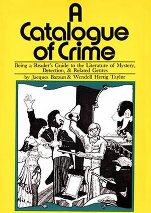 A Catalogue of Crime - First edition (1971)
