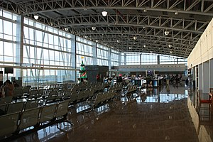 Clark International Airport - Views of the departure hall of the Diosdado Macapagal Terminal
