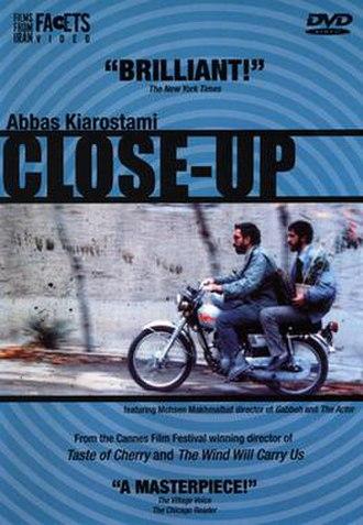 Close-Up (1990 film) - DVD cover