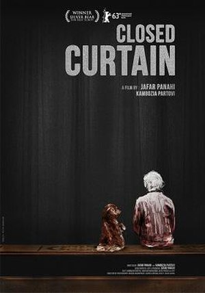 Closed Curtain - Theatrical release poster