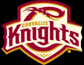 Corvallis Knights - Image: Corvallis Knights logo