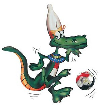 2006 Africa Cup of Nations - Croconile, the championship's official mascot