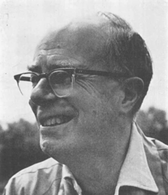 David Lack - Lack in 1966, photo by Eric Hosking