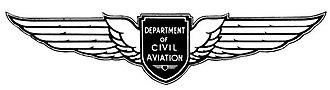 Department of Civil Aviation (Australia) - Image: Department of Civil Aviation 'Wings' Logo