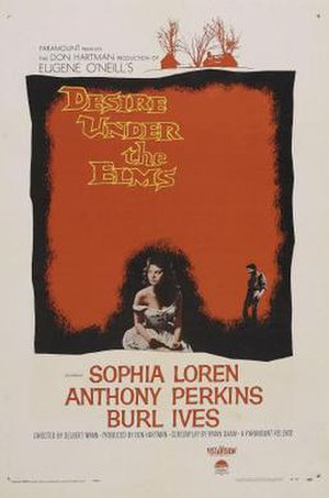 Desire Under the Elms (film) - Image: Desire Under the Elms Film Poster