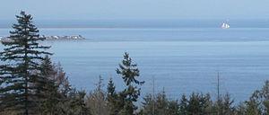 Diamond Point, Washington - Diamond Point, seen from Gardiner