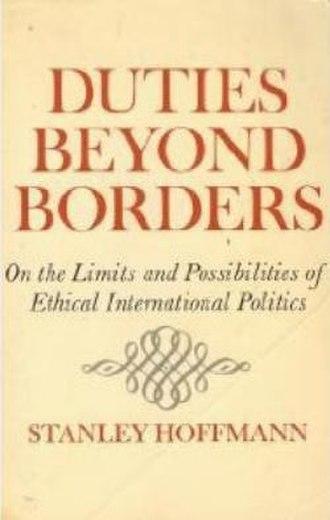Duties Beyond Borders - Image: Dutiesbeyondborders