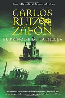 <i>The Prince of Mist</i> 1993 novel by Carlos Ruiz Zafón