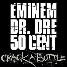 Eminem featuring Dr. Dre and 50 Cent — Crack a Bottle (studio acapella)