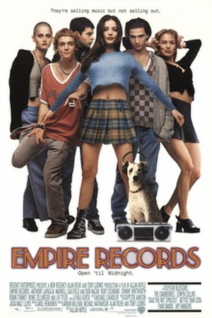 Empire Records - Theatrical release poster