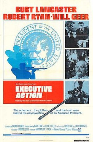 Executive Action (film) - Theatrical poster