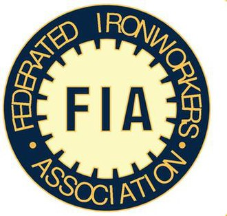 Federated Ironworkers' Association of Australia - Image: Federated Ironworkers' Association logo