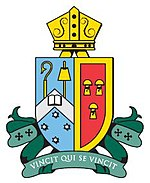 Firbank Grammar School crest. Source: www.firbank.vic.edu.au (Firbank Grammar School website)