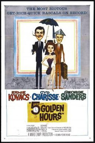 Five Golden Hours - theatrical release poster