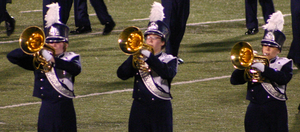 Flower Mound High School - The Jaguar Band performs at UIL District 2007–2008