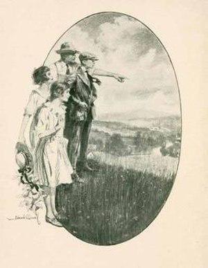 Cornelia Meigs - Frontispiece, The Windy Hill