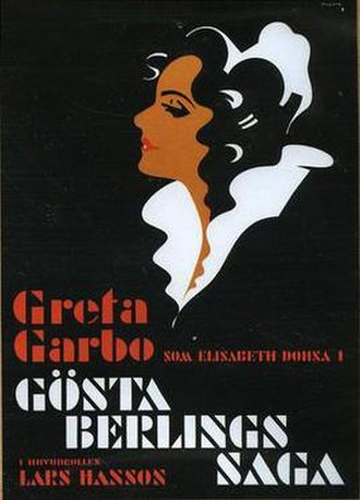The Saga of Gosta Berling - Theatrical release poster
