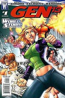 Gen¹³ American fictional superhero team and comic book series