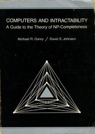 Computers and Intractability - Image: Garey, Johnson, Intractability, cover