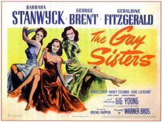 <i>The Gay Sisters</i> 1942 film by Irving Rapper