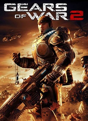 Gears of War 2 - Image: Gears of War 2 Game Cover