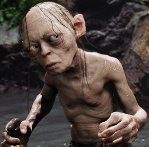 Weta Digital -  CG depiction of Gollum created by Weta Digital for the ''Lord of the Rings'' film trilogy.