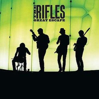 Great Escape (The Rifles album) - Image: Great Escape Cover