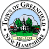 Official seal of Greenfield, New Hampshire