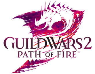 Guild Wars 2: Path of Fire - Image: Guild Wars 2 Path of Fire cover