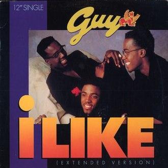 I Like (Guy song) - Image: Guy I Like Single