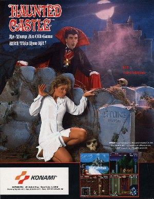Haunted Castle (video game) - Image: Haunted Castle flyer