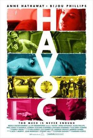 Havoc (2005 film) - Theatrical release poster