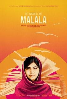 <i>He Named Me Malala</i> 2015 film by Davis Guggenheim