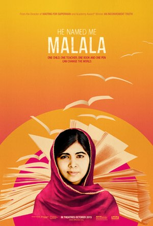 He Named Me Malala - Theatrical release poster