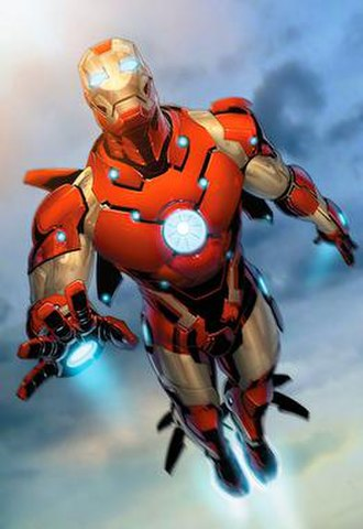 Iron Man - Image: Iron Man bleeding edge