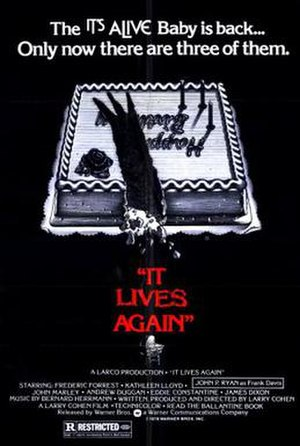 It Lives Again - Theatrical release poster