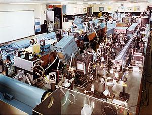 Janus laser - The Janus laser as it appeared in 1975.