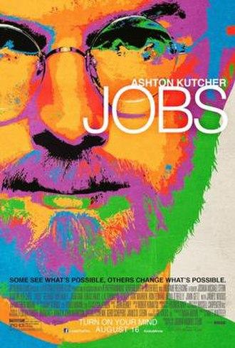 Jobs (film) - Theatrical release poster